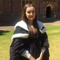 British graduate with a BA from the University of Cambridge & an MSc from Karolinska Institutet.